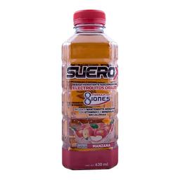 Electrolitos orales Suerox 8 iones manzana 630 ml