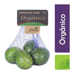 Aguacate Hass orgánico Altavista 4 pzas