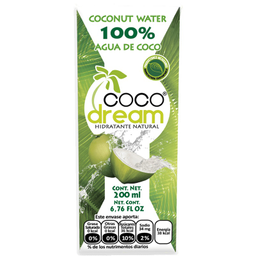 Agua de coco Coco dream 200 ml