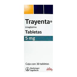 Trayenta 5 mg, 30 tabletas