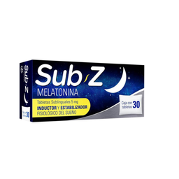 Sub Z 5 mg 30 tabletas