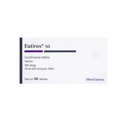 Eutirox 50 mcg, 50 tabletas
