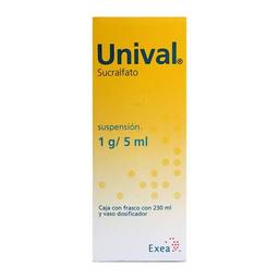 Unival 1 g/5 ml suspensión 230 ml