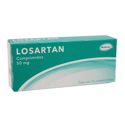 Losartan Medi Mart 50 mg 15 comprimidos