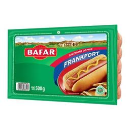 Salchicha de pavo Bafar frankfort 500 g