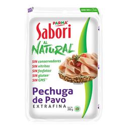 Sabori Pechuga de Pavo Parma Al Natural Esitrafina