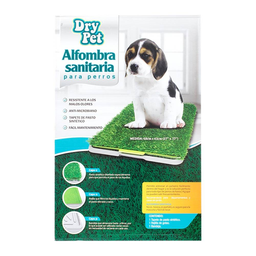 Alfombra Sanitaria Dry Pet 68 x 43 cm Verde