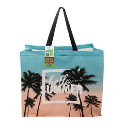 Bolsa verde Great value hello summer 1 pza