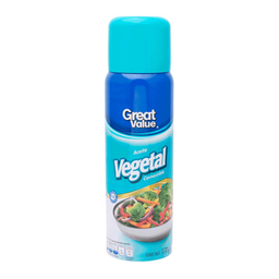 Aceite vegetal Great Value en aerosol 170 g