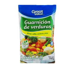 Guarnición de verduras Great Value 500 g