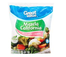 Vegetales Great Value mezcla california 500 g