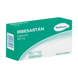 Irbesartán Medi Mart 300 mg 14 tabletas