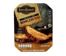 Costilla de Cerdo Tony Roma´s sin hueso original BBQ 454 g