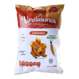 Botana Verdusanas chips de verdura enchilada zanahoria 140 g