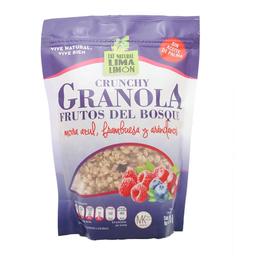 Granola Eat Natural Lima Limón frutos del bosque 375 g