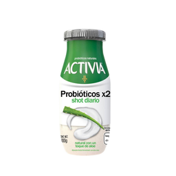 Yogurth Danone Activia sabor natural con un toque de aloe 100 g