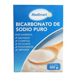 Bicarbonato de sodio Medi Mart puro, 300 g