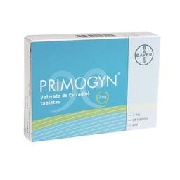 Primogyn 2 mg, 28 tabletas