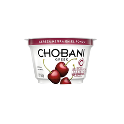 Yogurt Chobani Greek griego cereza negra 150 g