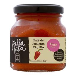 Paté Bella Vita de pimiento piquillo 140 g