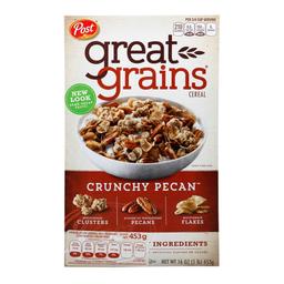 Cereal Post Great Grains multigrano nueces crujientes 453 g