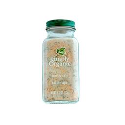 Sal de ajo Simply Organic orgánica 133 g