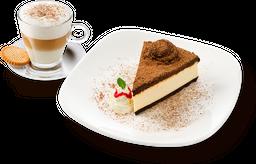 Combo Cheesecake de Trufa + Cappuccino