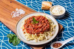 Spaghetti Boloñesa en Vino Tinto