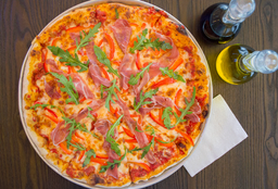 Pizza Prosciutto Familiar