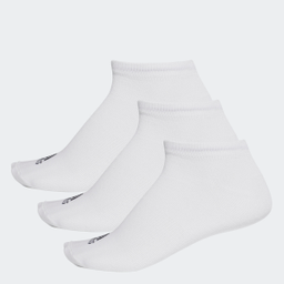 Calcetines Performance No-Show Thin 3 Pares_WHITE/WHITE/WHITE