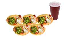Combo Naranjitos Mixto + Agua GRATIS