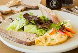 Omelette de Hongos y Quesos