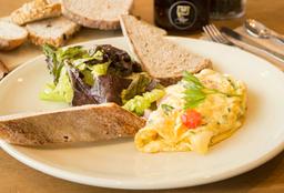 Omelette de Jamón y Queso Gruyére