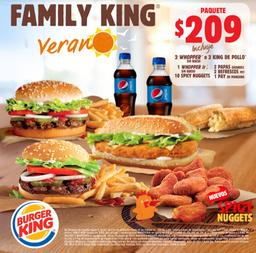 Family King Verano