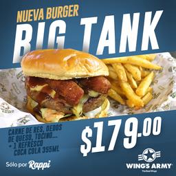 Big Tank + Papas + Refresco