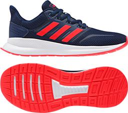 Tenis Run Falcon_dark blue/active red/core black