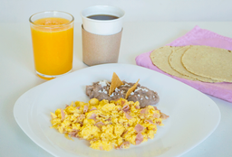 Lunche Omelette o Huevos al Gusto