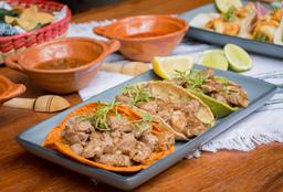 Orden de Tacos de Rib Eye (3 pz)