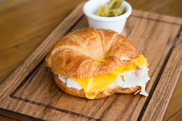 Croissant Pavo y Cheddar