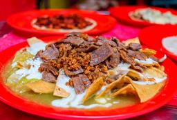 Chilaquiles Campechanos