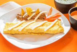 Omelet de Champiñón o jamón o panela
