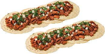 2x1 Tacos de Pastor