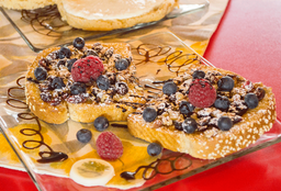 Pan Francés con Frutos Rojos