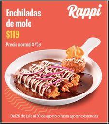 14% Off Enchiladas de Mole
