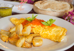 Omelette Griego