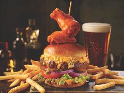 Buffalo Wingman Burger