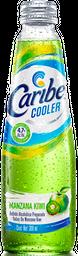 Caribe Cooler -  Sabor Manzana Kiwi Botella 300 mL