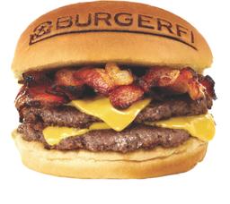 Burgerfi Bacon Cheeseburger