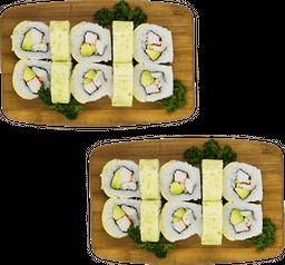 2x1 Rollos Vegetarianos