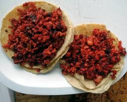Taco de Chorizo